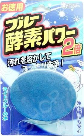 Таблетка для бачка унитаза ST Blue Enzyme Power с ароматом леса средство для дачного туалета микропан выгребная яма 12г 1 таблетка