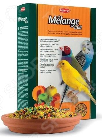 Корм для декоративных птиц Padovan Melange fruit корм для тропических птиц padovan wellness mix полнорационный 1кг