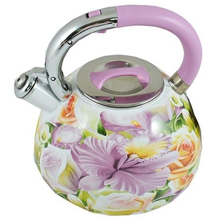 Купить Чайник со свистком Mayer&Boch «Цветы»
