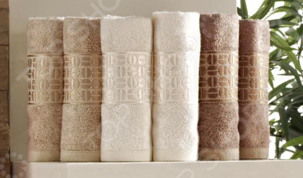 Комплект из 6-ти махровых полотенец Issimo Home Coffee Bean