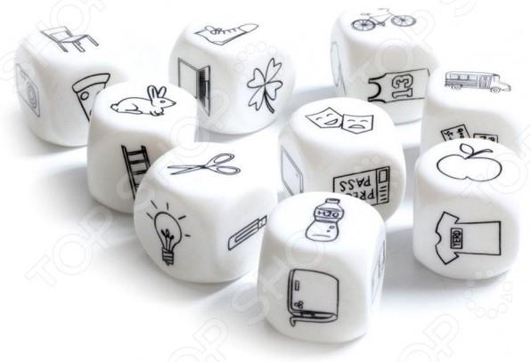 Игра настольная Bradex «Кубики историй» 2