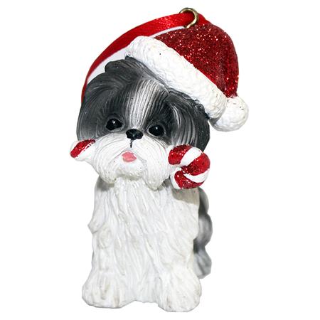 Купить Елочное украшение-подвеска Crystal Deco «Собачка» 1707810