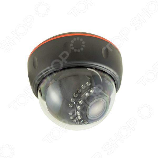 Камера видеонаблюдения купольная Rexant 45-0260 rexant 45 0257 white камера видеонаблюдения