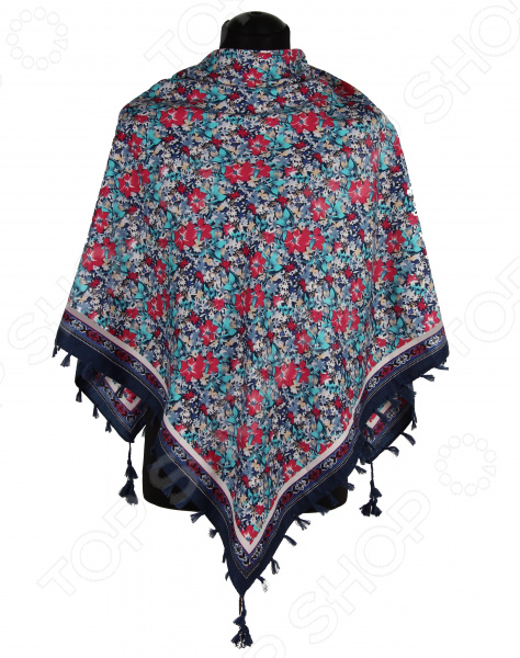Платок Bona Ventura PL.XL-H.Pr.1 недорогой платок на шею для женщин