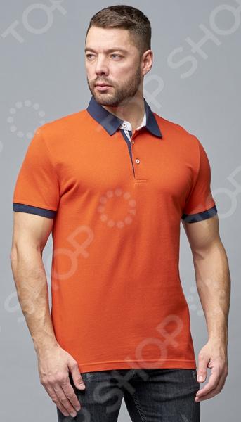 Футболка-поло мужская Milliner 181322030 футболка мужская однотонная