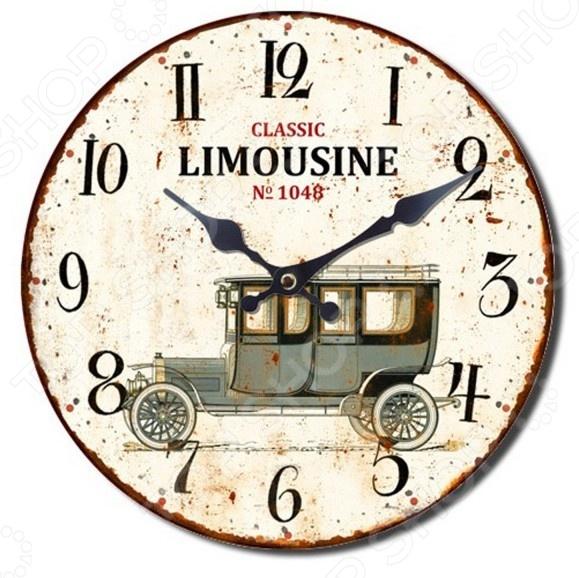 Часы настенные Mitya Veselkov «Винтажное авто-4»