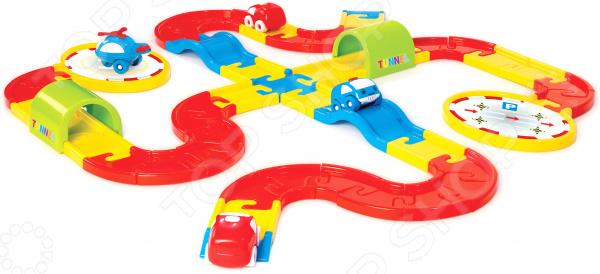 Набор игровой для мальчика Dolu «Дорога с машинками»
