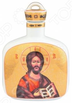 Сосуд для святой воды Elan Gallery «Иисус Христос» с молитвой вышивка бисером молящийся христос