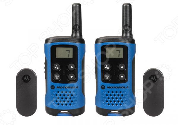 Комплект из двух раций Motorola TLKR-T41 motorola tlkr t41 розовый