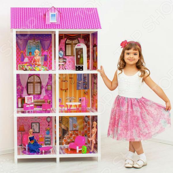 Кукольный дом с аксессуарами PAREMO PPCD116-06
