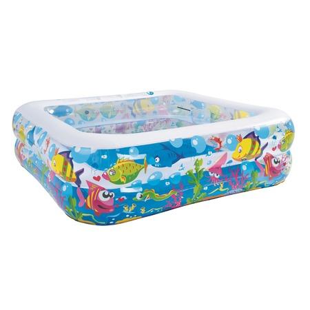 Купить Бассейн надувной Jilong Sea World Square Pool JL017421NPF
