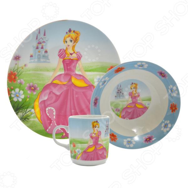 Набор посуды для детей Loraine «Принцесса» LR-23393