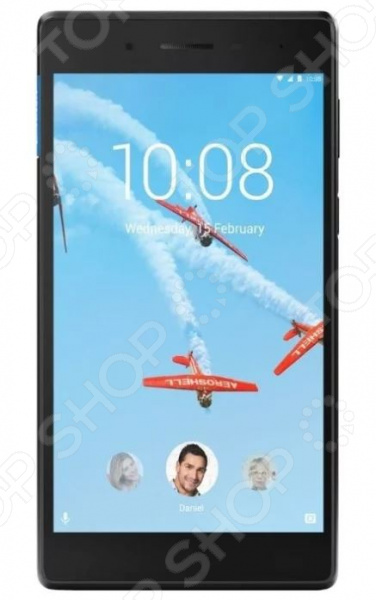 Планшет Lenovo Tab 4 TB-7304X 16Gb планшет lenovo tab 4 tb 7304x 7 za330081ru mediatek mt8735d 1 1 1gb 16gb 7 ips wi fi bt 3g lte 2 2mpx android black