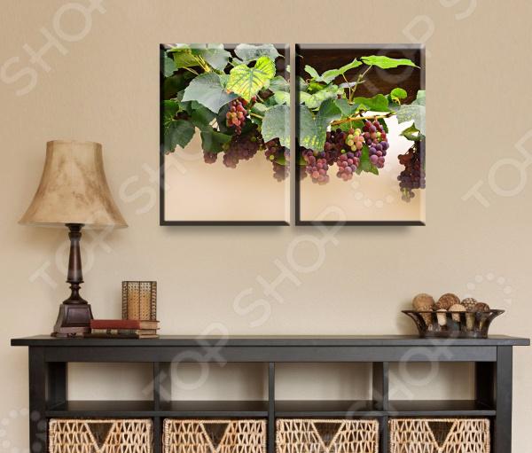 Картина модульная ТамиТекс «Виноград»