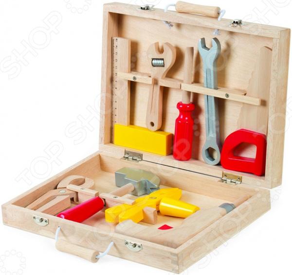 Набор инструментов игровой Janod «Чемоданчик-мастерская»