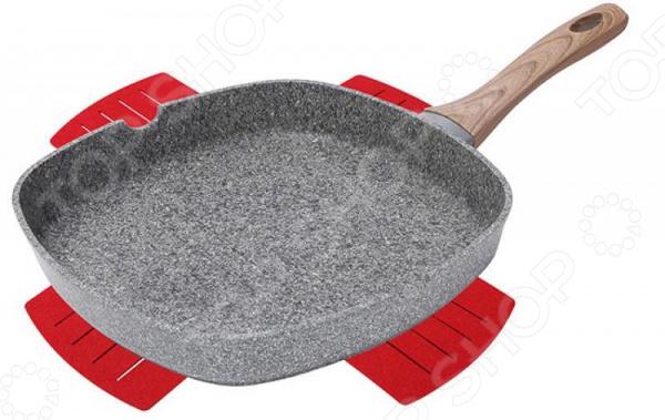 Сковорода-гриль Bergner BG-7979 сковорода гриль bergner bg 7979 granit eco