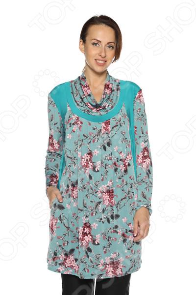 Туника Pretty Woman «Пальмира». Цвет: бирюзовый жен туника арт 16 0125 бирюзовый р 50