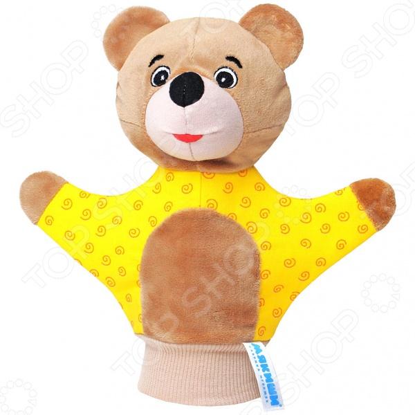 Игрушка-рукавичка Мякиши «Мишка». В ассортименте