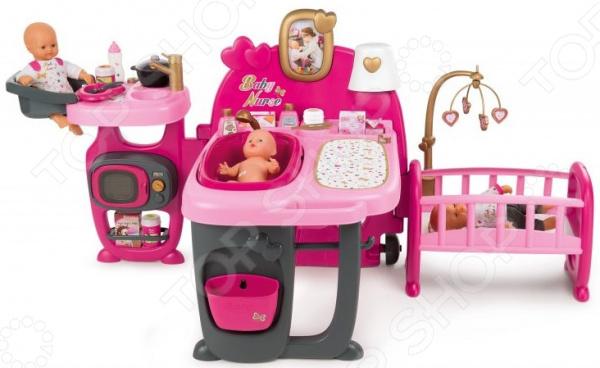 Игровой центр для пупса Smoby Baby Nurse