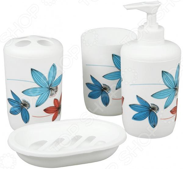 Набор для ванной комнаты из 4 предметов Rosenberg RPL-350008-4