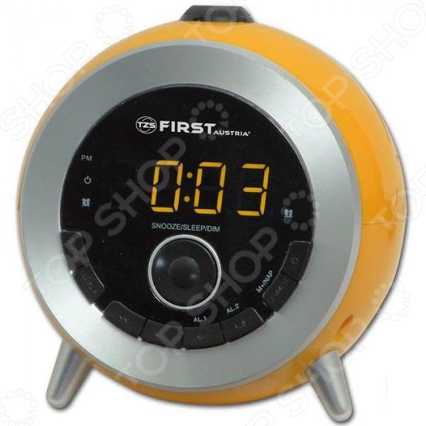 Радиочасы First 2421-6 Радиочасы First 2421-6 /Оранжевый