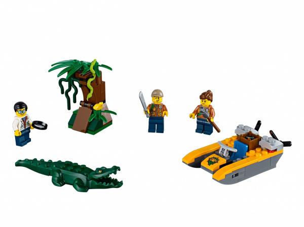 Конструктор игровой LEGO City Starter Set «Джунгли»