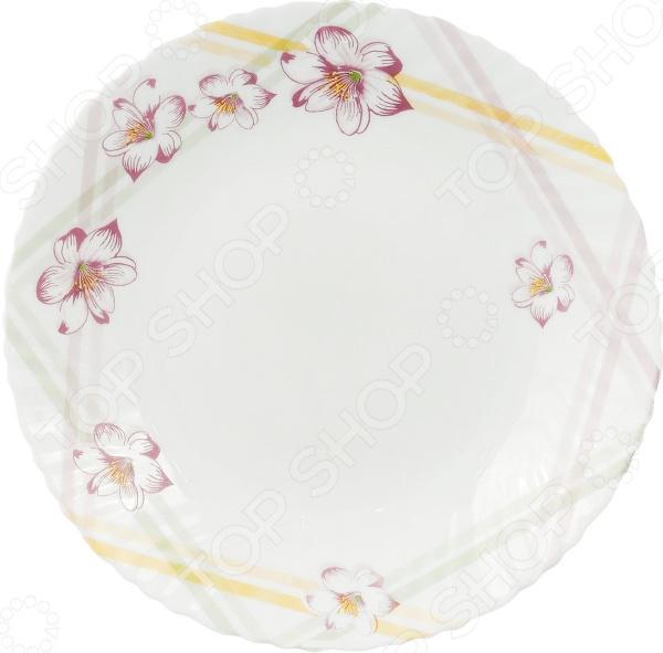 Тарелка обеденная Miolla «Маргарита» elff ceramics тарелка маргарита 36 22 см