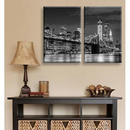 Купить Картина 2-модульная ТамиТекс «Бруклинский мост»