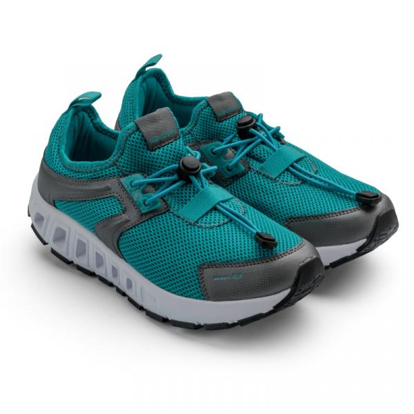 Кроссовки спортивные воздухопроницаемые Walkmaxx 2.0. Цвет: аквамарин