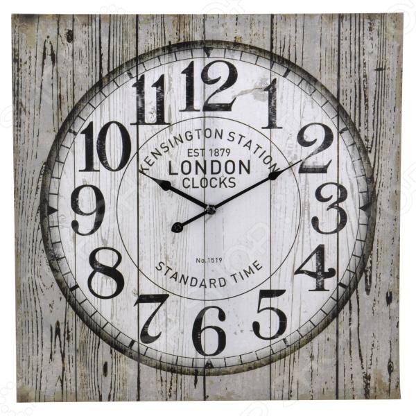 Часы настенные квадратные Mitya Veselkov Kensington mitya veselkov часы настенные серебристые цифры на розовом 20 см nast232