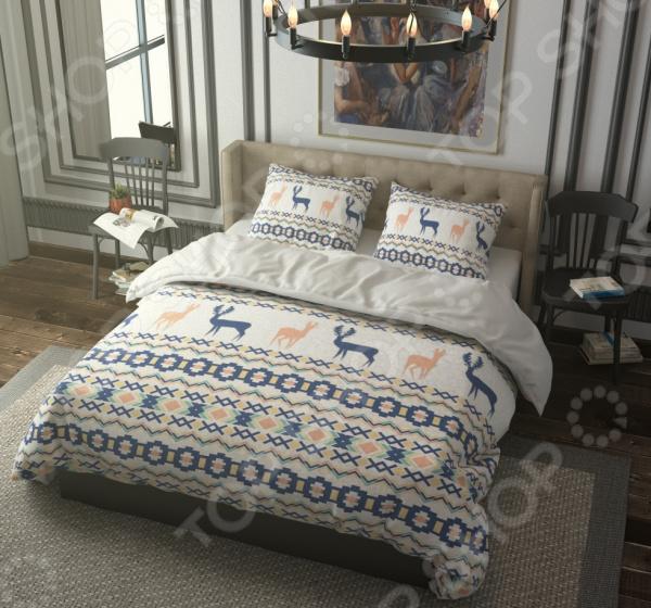 Комплект постельного белья Стильный дом «Полярная сказка». Семейный