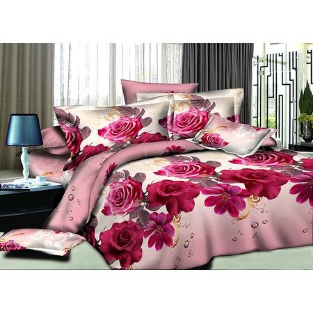 Купить Комплект постельного белья Ricotio «Розовые росы»