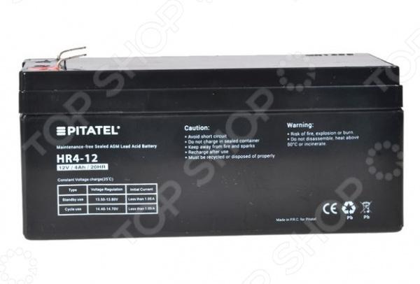 Аккумулятор для источников бесперебойного питания Pitatel HR4-12 ситников а в электротехнические основы источников питания