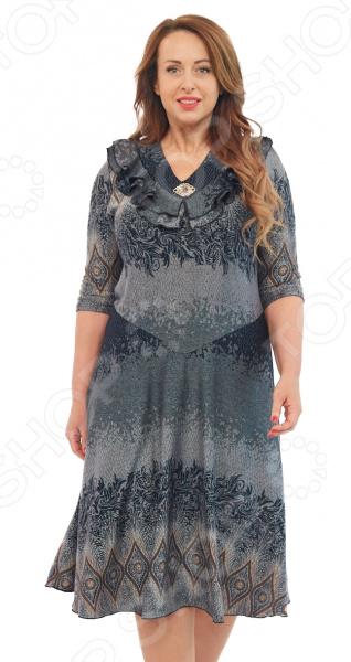 Платье LORICCI «Джулианна». Цвет: зеленый