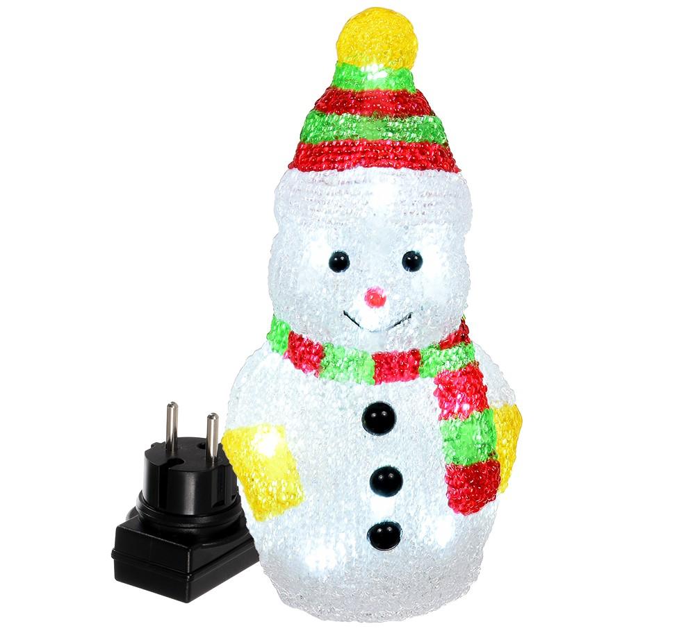 Фигурка новогодняя VEGAS «Снеговик» 55102
