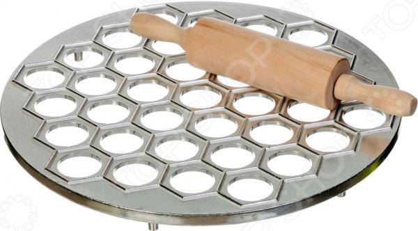 Набор для выпечки: форма для пельменей и скалка 712-225