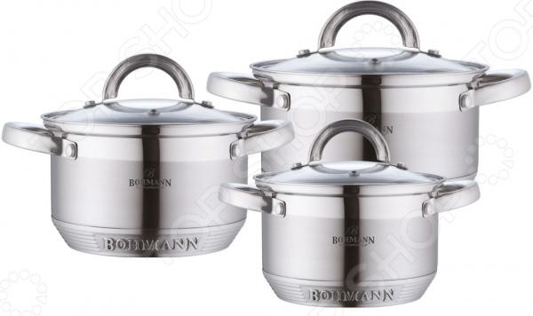 Набор кастрюль Bohmann 0714BH