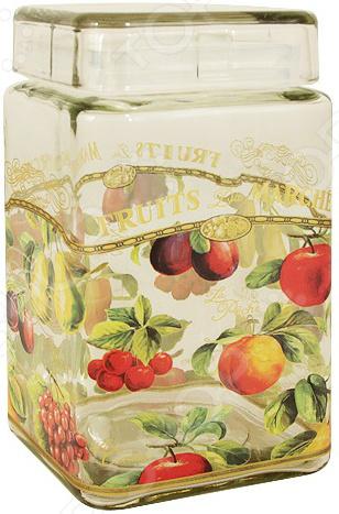Банка для сыпучих продуктов Sinoglass «Спелые фрукты»