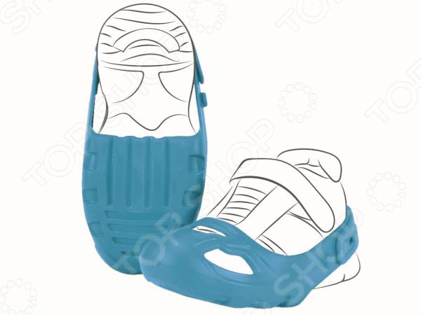 Дети это непоседы, за которыми порой трудно уследить, они любят бегать, везде лазить и ездить на велосипеде. Но что желать, если ребенку купили новую обувь Комплект защиты для детской обуви BIG регулирующийся это специальные насадки, которые защитят обувь малыша от повреждений. Они одеваются на обувь сверху и крепятся на пятке благодаря застежкам. Защитные насадки можно регулировать под размер обуви от 21 до 28. Изделия легко одеваются и снимаются. Они изготовлены из резины, не доставляют дискомфорта ребенку, а также оставляют следов на полу. С данными насадками можно не беспокоиться за дорогую обувь.