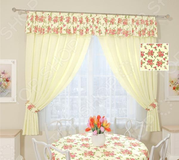 Комплект штор Сирень «Камелия» комплект штор с покрывалом для спальни в москве