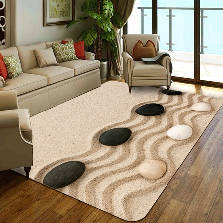 Купить Ковер ТамиТекс «Камни на песке»