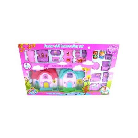 Купить Кукольный дом с аксессуарами Shantou Gepai 628745