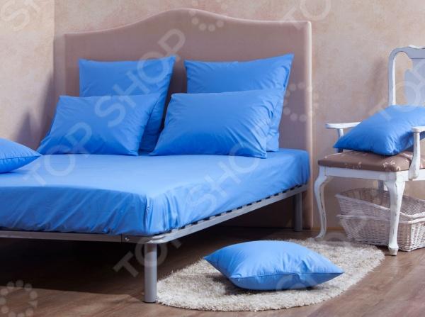 Комплект: простыня и наволочки MIRAROSSI Blue комплект белья mirarossi domenica семейный наволочки 70х70 цвет белый коралловый зеленый