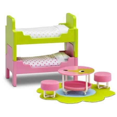 Купить Мебель для куклы Lundby «Смоланд. Детская с 2 кроватями»