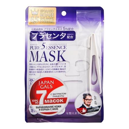 Купить Маска для лица Japan Gals с плацентой