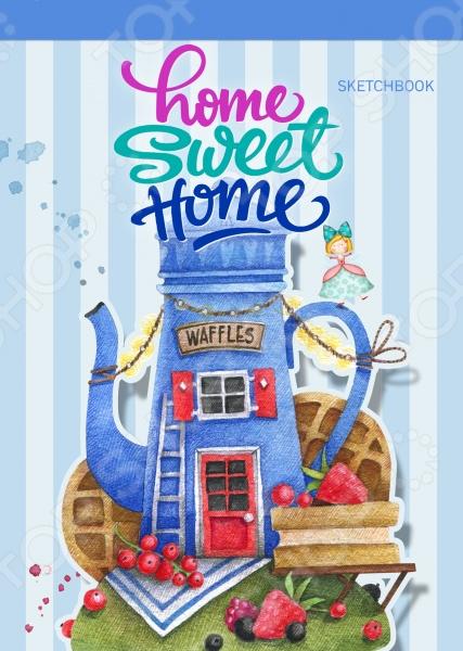 Блокноты. Тетради Эксмо 978-5-699-88907-5 Home sweet home! Waffles. Блокнот