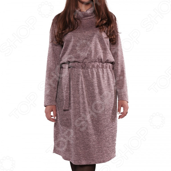 Платье Pretty Woman «Инфинити». Цвет: серый цена 2017