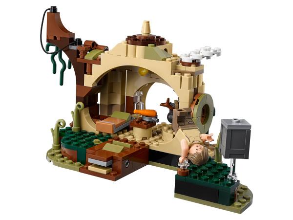 Конструктор игровой LEGO Star Wars «Хижина Йоды»