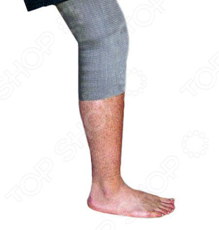 Наколенник медицинский эластичный согревающий ALMED с шерстью мериноса
