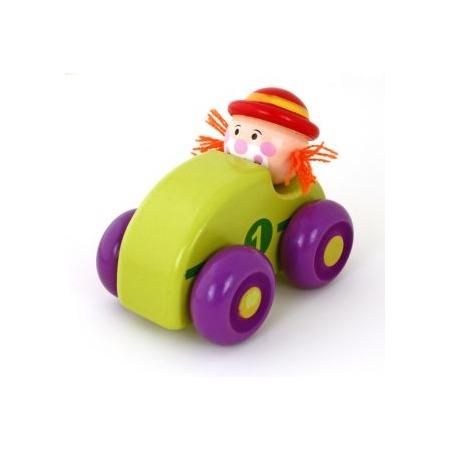 Купить Игрушка деревянная Mapacha «Клоун». В ассортименте
